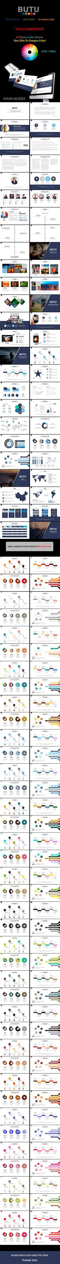 Butu V.3 Powerpoint Presentation (PowerPoint Templates)
