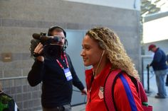 The USWNT called up 11 debutants for a pair of friendlies and one of them, Lynn Williams, made an impression immediately. Usa Soccer Team, Football Soccer, Lynn Williams, Soccer Gifs, Orlando Pride, Goals