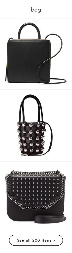 """""""bag"""" by jordan-mobley ❤ liked on Polyvore featuring bags, handbags, shoulder bags, black and white crossbody purse, flap shoulder bag, black and white shoulder bag, black and white handbags, monogram purse, accessories and black"""