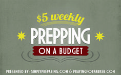 Prepping On A Budget Through Frugal Living