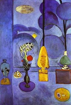 Henri Matisse The Blue Window painting for sale - Henri Matisse The Blue Window is handmade art reproduction; You can buy Henri Matisse The Blue Window painting on canvas or frame. Henri Matisse, Matisse Kunst, Matisse Art, Matisse Paintings, Oil Paintings, Post Impressionism, Fine Art, Museum Of Modern Art, French Artists