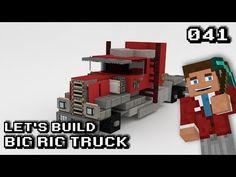 Minecraft: Vehicle Let's Build [041] - Big Rig Truck | Logibo - YouTube