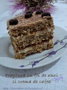 My Recipes, Cake Recipes, Dessert Recipes, Cooking Recipes, Romanian Desserts, Romanian Food, Xmas Cookies, Something Sweet, Bakery