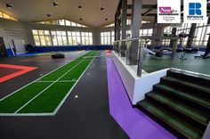 Neoflex Reco Series Rubber Fitness Flooring @ Private Olympic Training Facility, Dubai, UAE