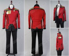 Online General Discussion Admiral Uniform costume  for Star Trek Cosplay