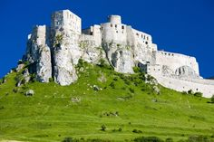 In the heart of eastern Slovakia is situated another impressive addition to the largest and most famous European castles. This is the spectacular Spis Castle, which stands majestically over a green hill, right next to the city of Spišské Podhradie.