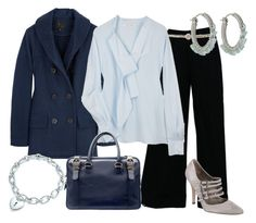 Estilo Formal by outfits-de-moda2 on Polyvore featuring moda, Marc Jacobs, YMC, Twenty8Twelve, Manolo Blahnik, Zara, Viv & Ingrid, Tiffany & Co. and John Lewis
