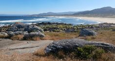 1000 Lugares en Galicia: Playa de Espiñeirido, en Porto do Son. Ría de Muro...