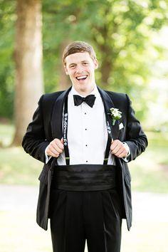 embroidered suspenders | Robyn Van Dyke #wedding