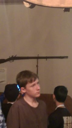 This is William Mikey's rifle.