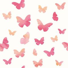 1828 Pink Butterflies