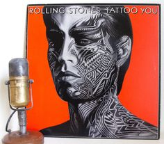 "The Rolling Stones Vinyl Record Album 1980s Classic Rock Mick Jagger Keith Richards""Tattoo You"" (Orig.1981 RS w/ ""Start Me Up"")"