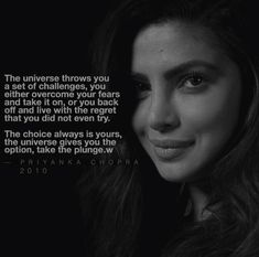 My favorite Priyanka Chopra Quote ♥️ Priyanka Chopra Quotes, Quantico Priyanka Chopra, Priyanka Chopra Wedding, Actress Priyanka Chopra, Self Love Quotes, Change Quotes, Quotes To Live By, Boss Lady Quotes, Woman Quotes
