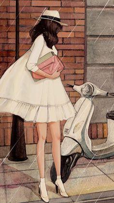 """""""Thực ra, tình yêu là một căn bệnh. Ai rồi cũng sẽ có ngày mắc phải, hoặc sớm hoặc muộn, có thể nhẹ một chút hoặc cũng có thể nặng một chút. Một loại thuốc đặc trị duy nhất là trái tim của anh, nếu anh không chịu hiến dâng, em sẽ giống như đoá hoa hồng bị mất nước, dần dần khô héo úa tàn, mãi mãi chẳng bao giờ có mùa xuân …"""" {Muôn nẻo đường yêu   Tuyết Tiểu Thiền}"""