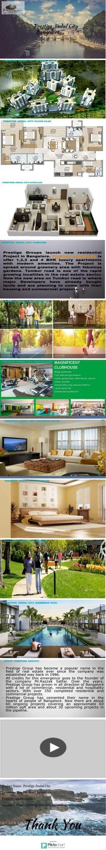 Prestige Jindal City Best Effusive Project in Bangalore | Piktochart Infographic Editor