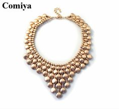 Cheap necklace canada, Buy Quality necklace identification directly from China necklace swan Suppliers:  gold color collares statement body chains necklace fashion big necklaces female pendants vintage necklace for women jew