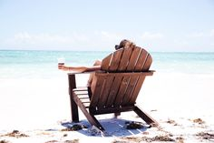 Oversized Beach Adirondack Chair