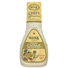 Ken's Steakhouse Chef's Reserve Creamy Caesar With Roasted Garlic Dressing