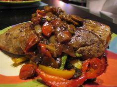 Greek Recipes, Pork Recipes, Cooking Recipes, Healthy Recipes, Recipies, Pork Dishes, Tasty Dishes, Food Network Recipes, Food Processor Recipes