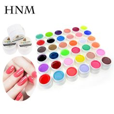 Super Long Last 5ml Pure Color Gel Nail Polish UV LED Nail Gel Nail Art 36 Colors Gel Lak Gel Varnishes Gelpolish