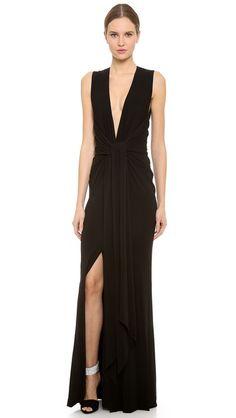 Kaufman Franco Sleeveless Gown