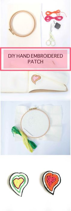 7 Simple Steps to Creating your Own Embroidered Patch