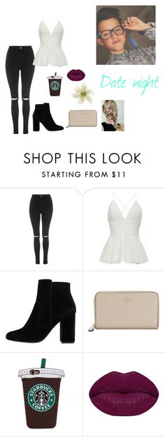 """""""Your so beautiful 😍"""" by panda7096 ❤ liked on Polyvore featuring Topshop, MANGO, Coach, Winky Lux and Clips"""