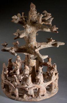 Cultura Nayarit . Oeste de México. 100 a 800 A. C