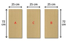 premiere étape pour fabriquer une machine à plier le linge Bamboo Cutting Board, Woodworking, Diy, How To Make, Organiser, Wood Work, Packing, Food, Cartonnage
