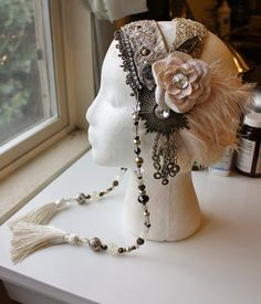 Custom headdress made by the Verdant Muse