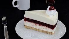Fehér csokis meggytorta – a vendégeim azonnal elkérték a receptjét - Kiskegyed Vanilla Cake, Cheesecake, Deserts, Food And Drink, Cheesecakes, Postres, Dessert, Cherry Cheesecake Shooters, Plated Desserts
