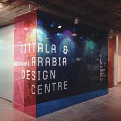 Identity & custom type design for Iittala & Arabia Design Centre Type Design, Helsinki, Centre, Identity, Typography Design, Print Design, Personal Identity