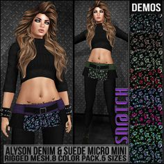 Sn@tch Alyson Micro Mini Skirt Vendor Ad LG | Flickr - Photo Sharing!