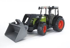 Bruder Claas Nectis 267 F With Frontloader by Bruder. Save 1 Off!. $28.69. Detachable and fully functioning front loader. Suitable for playing indoors and outdoors. Scale 1:16. Made in Germany. Manufactured from high-quality plastics such as ABS. From the Manufacturer                The Claas Nectis 267 F with Frontloader #02111 is fully functioning like the real Claas Nectis tractor and comes included with typical BRUDER features, such as standard front and back coupling wh...