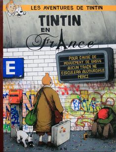 Les aventures de TINTIN en France...