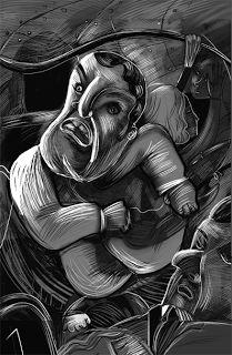 OTRA VUELTA: Cuentos de Suspenso-Coleccion Flecos al Sol Abstract, Drawings, Artwork, Blog, Fringes, Drive Way, Short Stories, Red, Illustrations
