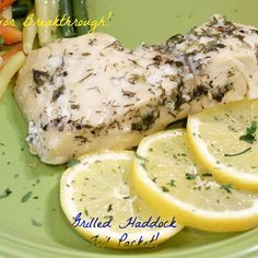 Grilled Haddock Foil Packet!