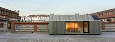 4th Bienial of Latin Amercian Desing Opening....ABATON's Portabale House is part of the exhibit in Matadero Madrid