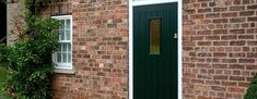 Design your dream composite door with Endurance. Racing Green is a timeless, elegant style for any home.