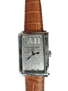 Large stainless steel and diamond men`s Cuervo y Sobrinos Habana Prominente wristwatch   http://www.liveauctioneers.com/item/25627354_large-mens-cuervo-y-sobrinos-stainless-steel-and