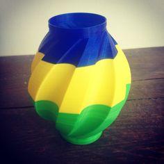 3D Printed vase #print3dmatter #Print3DAmsterdam