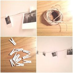 Simple is beautiful. More polaroid pictures in your room will make it look fantastic. Polaroid Pictures, Cute Posts, White Walls, Fill, Photo Wall, Wall Decor, Make It Yourself, Inspired, Simple