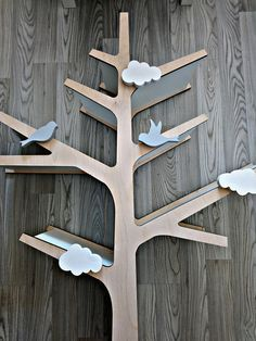 TREE SHELF shelves wooden book shelves shelves nursery