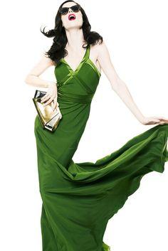 Maigrün kombiniert mit Chartreuse (Farbpassnummern 29 und 25) Kerstin Tomancok Farb-, Typ-, Stil & Imageberatung