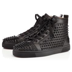 Shoes - Louis Men's Flat Spikes - Christian Louboutin