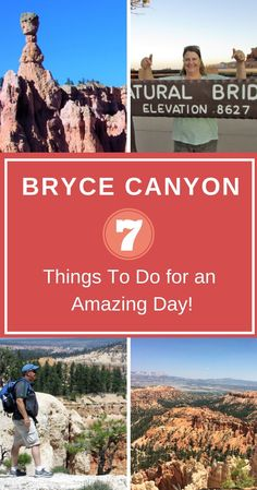 Planning Your Bryce Canyon Itinerary: 7 Things To Do for a Perfect Vacation - Walking The Parks - Hiking in Bryce Canyon National Park in Utah is only the beginning of a great adventure. Us National Parks, Zion National Park, Bryce Canyon Hikes, Utah Hikes, Trip To Grand Canyon, Utah Vacation, Arizona Road Trip, Rocky Mountain National Park, National Forest