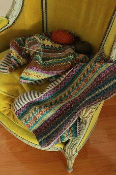fair isle deken
