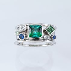 Gem Rings — Fairbank and Perry Goldsmiths