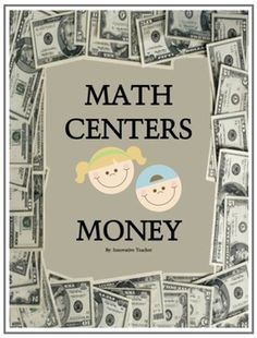 Math Centers Money - CCSS