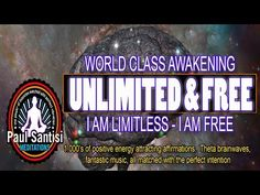 3D SOUND 1000's Of Positive Affirmations Meditation Awaken Energy Vibration Luck Health Paul Santisi - YouTube